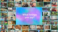 """Thank you for contributing to our """"what brings you joy"""" project. It was so nice to see the many ways you and your family are finding and spreading joy!Wishing you […]"""